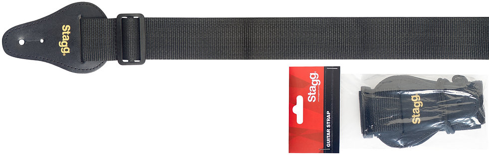 BJA009 Stagg Nylon Guitar Strap
