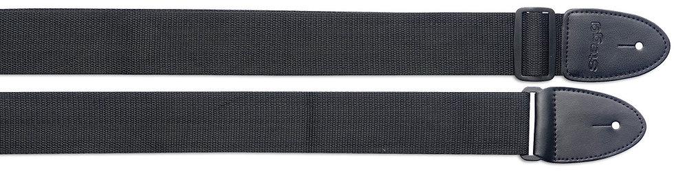 SN5-BK NYLON ADJUSTABLE GUITAR STRAP
