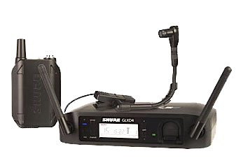 Shure Glxd14/b98h wireless system