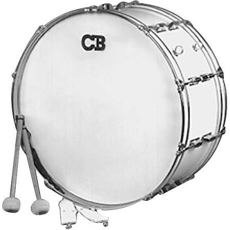 "CB PERCUSSION IS3650W 10"" x 26"" Bass Drum"