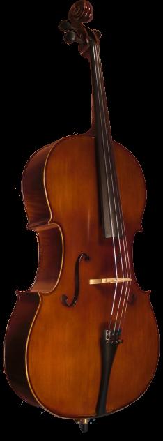 SofiaMari 520E 3/4, 1/2  Cello Student Outfit