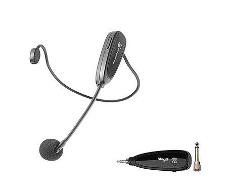 STAGG SUW-10H 2.4 GHZ wireless headset microphone set