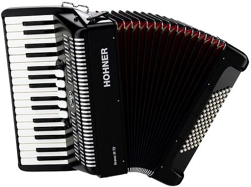 Hohner Piano Accordion Bravo II 48,