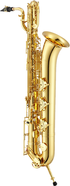 JBS1000 JUPITER Baritone Saxophone Lacquered Gold Body And Keys