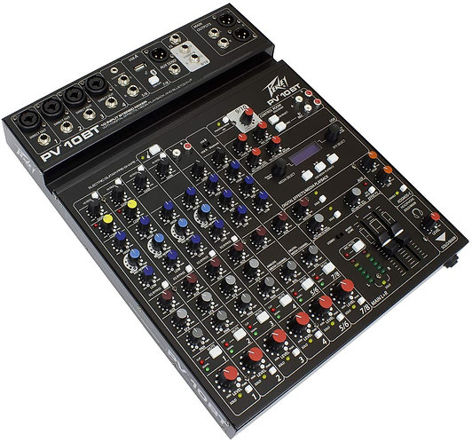 PV® 10 BT Compact Mixer with Bluetooth Peavey