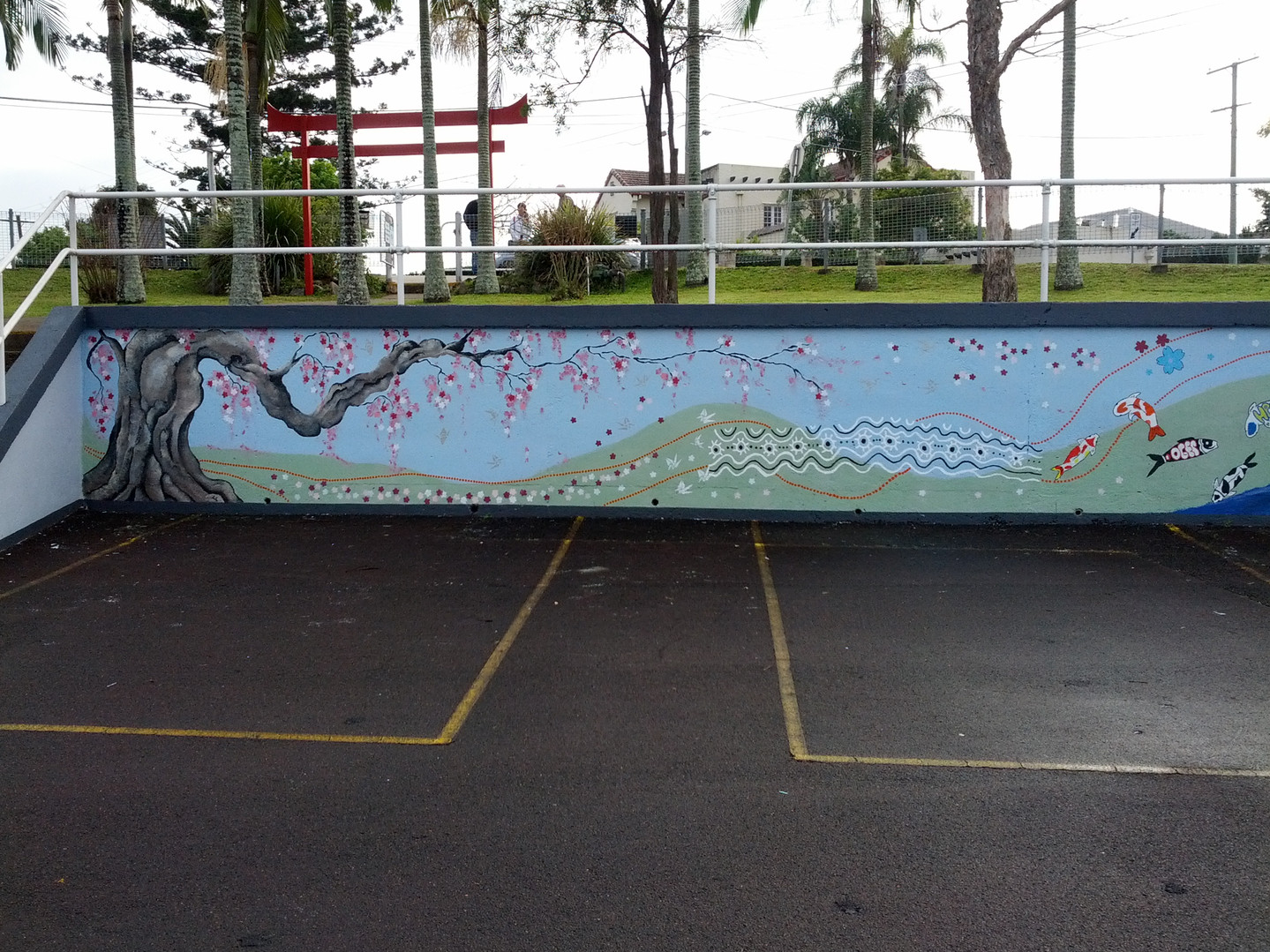 Holland Park State School Mural 1