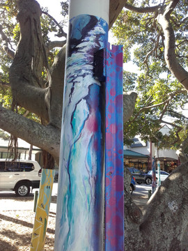 Bulimba Pole Painting