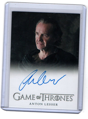 Game of Thrones Anton Lesser Autograph