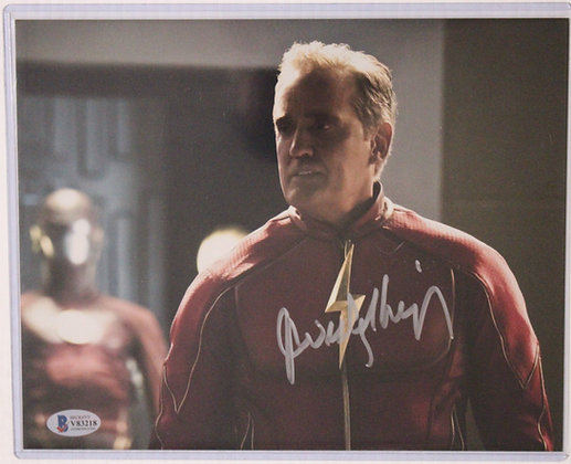 John Wesley Shipp - Henry Allen - Earth 90 Flash | Beckett Authenticated