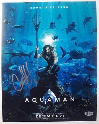 Amber Heard - Mera - Aquaman    Beckett Authenticated