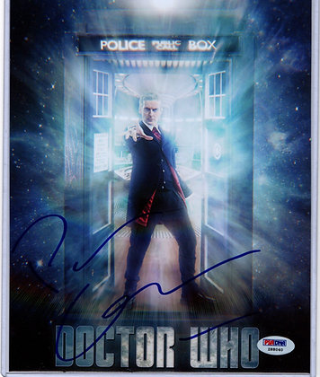 Peter Capaldi - Doctor Who | PSA Authenticated