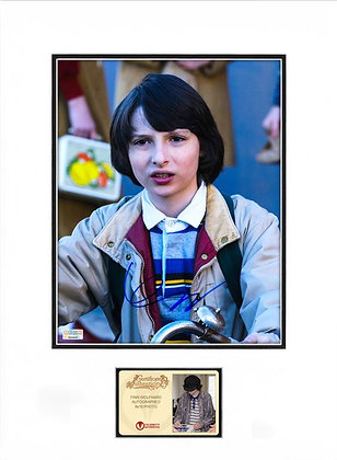 Finn Wolfhard - Stranger Things Mike Matted | Celebrity Authentics