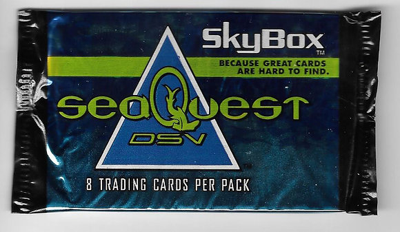 Sea-Quest DSV 1993 Skybox Card Pack