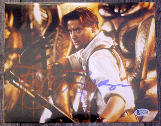 Brendan Fraser - Richard O'Connell - The Mummy | Beckett Authenticated