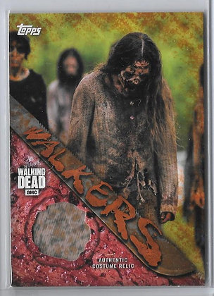 Walker Costume Card Walking Dead