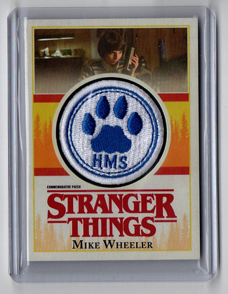 Stranger Things - Mike Wheeler School Patch