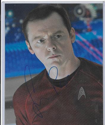 Simon Pegg - Star Trek | Beckett Authenticated