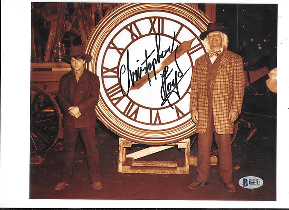 Christopher Lloyd - Back to the Future | Beckett Authenticated