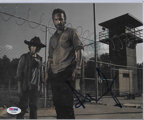 Andrew Lincoln - Walking Dead | PSA/Dna Authenticated