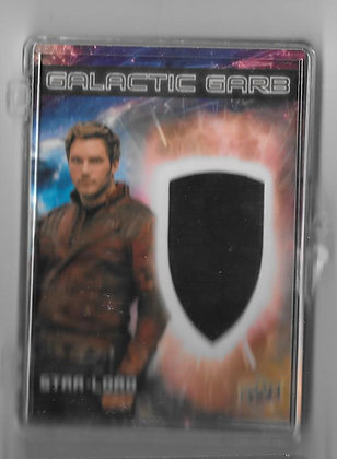 Star Lord Guardians of the Galaxy Wardrobe Card