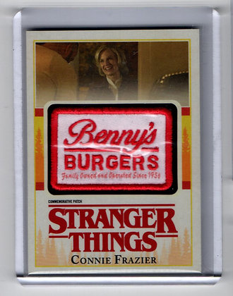 Stranger Things - Connie Frazier Benny's Burgers Patch