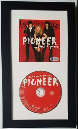 The Band Perry Autograph CD Framed Display - Country Artist | Beckett Certified
