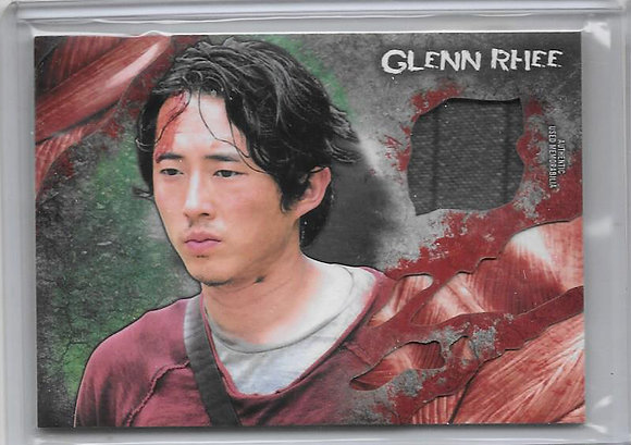 Glenn Walking Dead Wardrobe Card