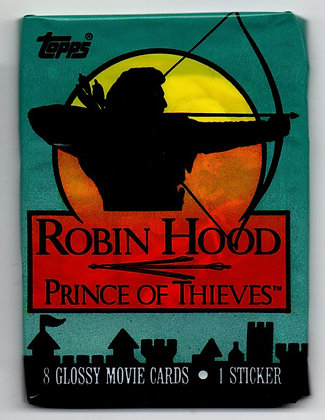 Robin Hood Prince of Thieves 1991 Topps Trading Card Pack
