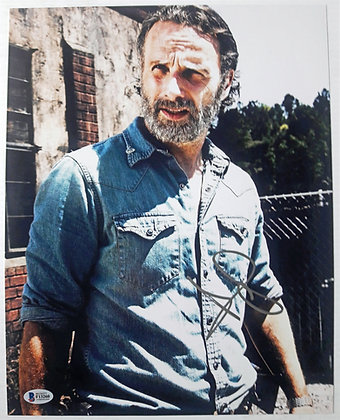 Andrew Lincoln - Rick - The Walking Dead | Beckett Authenticated