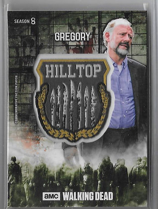 Gregory Walking Dead Hilltop Patch Card