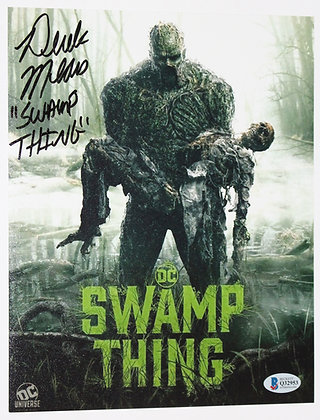 Derek Mears - Swamp Thing | Beckett Authenticated