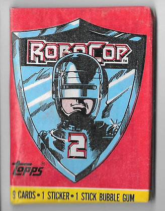 RoboCop 2 1990 Topps Trading Card Pack