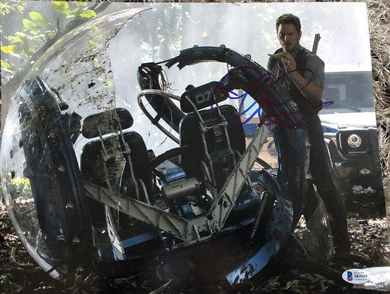 Chris Pratt - Jurassic World | Beckett Authentic