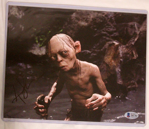 Andy Serkis - Gollum - LOTR | Beckett Authenticated