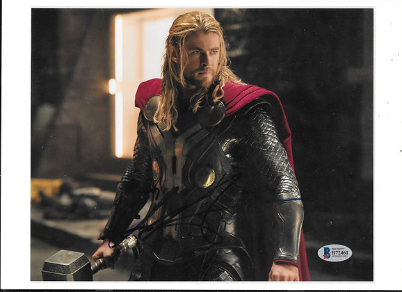 Chris Hemsworth - Thor | Beckett Authenticated