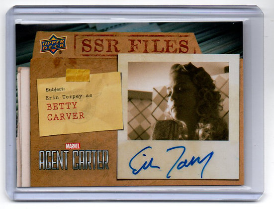Agent Carter - Betty Carver Autograph