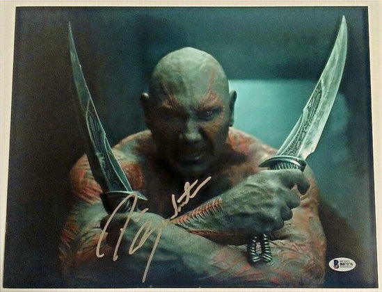 Dave Bautista - Drax | Beckett Authenticated