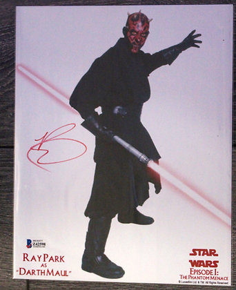 Ray Park Darth Maul | Beckett Authenticated