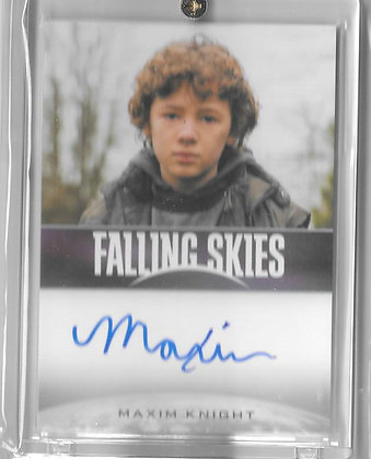 FALLING SKIES MAXIM KNIGHT