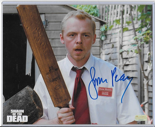 Simon Pegg - Shawn of the Dead | Celebrity Authentics