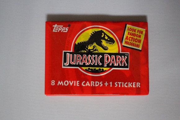Jurassic Park 1993 Topps Trading Card Pack