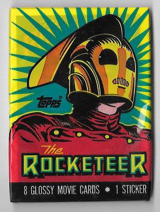 Rocketeer 1991 Topps Trading Card Pack