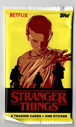 Stranger Things Season One Trading Card Pack