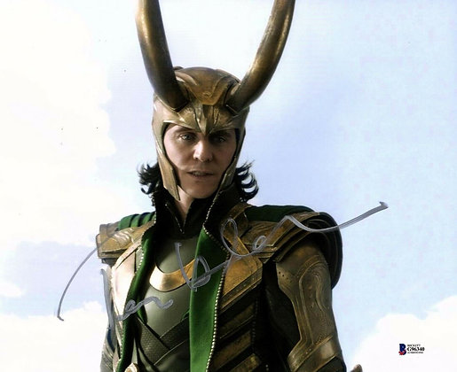 Tom Hiddleston - Loki | Beckett Certified
