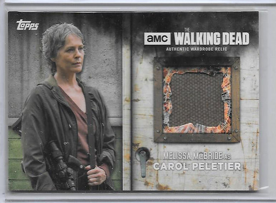 Carol Walking Dead Wardrobe Card