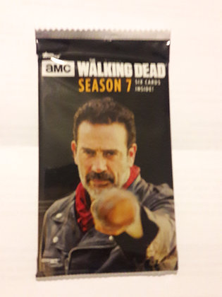 Walking Dead Season 7 Trading Cards