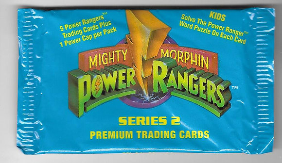 Power Rangers 1994 Series 2 Trading Card Pack