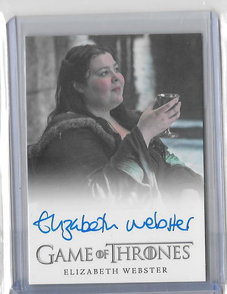 Game of Thrones ELIZABETH WEBSTER