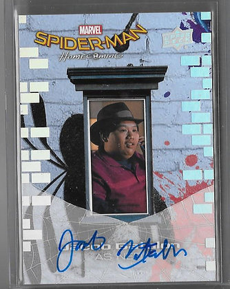 Jacob Batalon Autograph Spiderman Homecoming