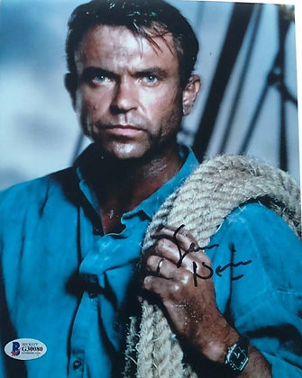 Sam Neill - Jurassic Park | Beckett Authenticated